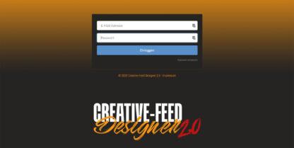 creative feed designer 2 0 login