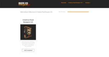 creative feed designer 2 0 uebersicht